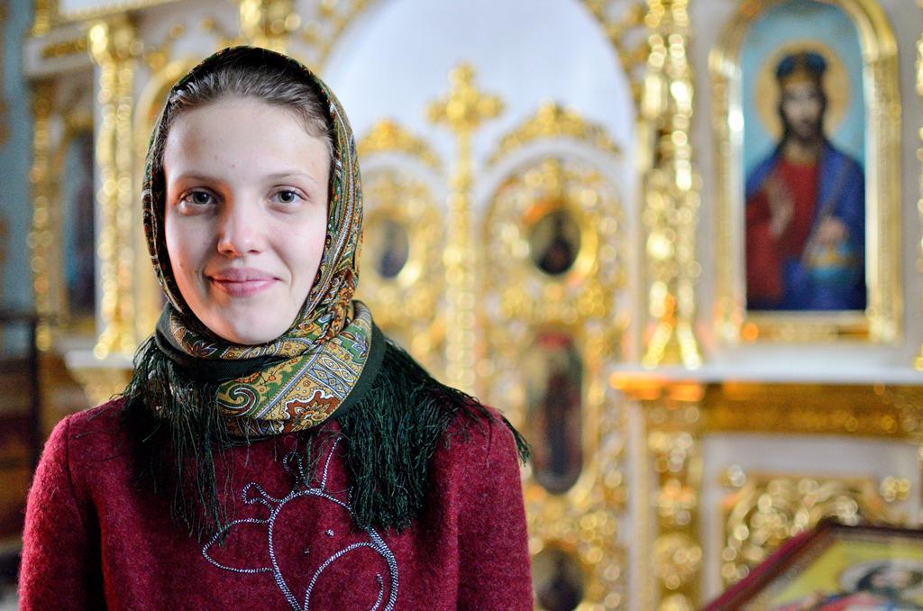 Сомова Алёна (в крещении Елена)